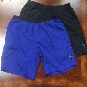 Bundle of prana shorts